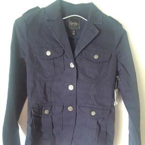 JESSICA SIMPSON Sahara  anchor Blue jacket